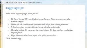 Elevblogg