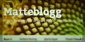 Matteblogg