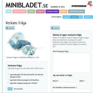 SydsvenskanMinibladet