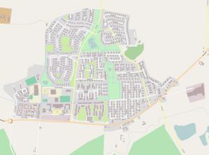 Karta över Bara, av Grillo