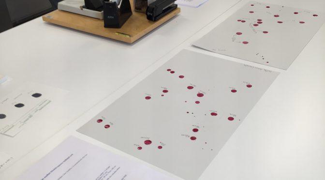 Blodstänk i klassrummet